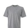 Basic T Shirt James & Nicholson - grey heather