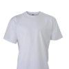 Basic T Shirt James & Nicholson - white