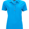 Ladies Pima Polo James & Nicholson - regatta blue