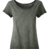 Ladies Slub T James & Nicholson - dusty olive