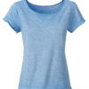 Ladies Slub T James & Nicholson - horizon blue