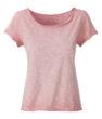 Ladies Slub T James & Nicholson - soft pink
