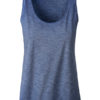 Ladies Slub Top James & Nicholson - denim