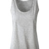 Ladies Slub Top James & Nicholson - light grey