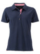 Ladies Traditional Polo James & Nicholson - navy