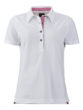 Ladies Traditional Polo James & Nicholson - white purple