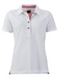 Ladies Traditional Polo James & Nicholson - white red