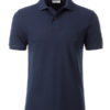 Mens Basic Polo James & Nicholson - navy