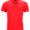 Mens Pima Polo James & Nicholson - light-red