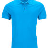 Mens Pima Polo James & Nicholson - regatta blue