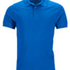 Mens Pima Polo James & Nicholson - royal