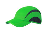 5 Panel Sports Cap James & Nicholson - green iron grey