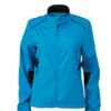 Ladies Performance Jacket James & Nicholson - atlantic black