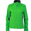 Ladies Performance Jacket James & Nicholson - green iron grey