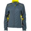 Ladies Performance Jacket James & Nicholson - iron grey lemon