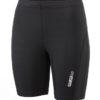 Ladies Running Short Tights James & Nicholson - black black