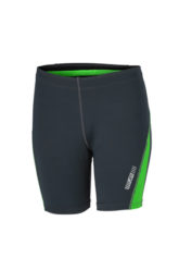 Ladies Running Short Tights James & Nicholson - iron grey green