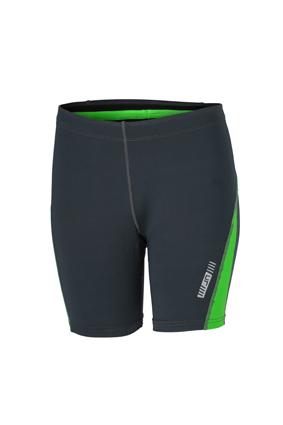 Ladies Running Short Tights James & Nicholson - iron grey green