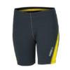 Ladies Running Short Tights James & Nicholson - iron grey lemon