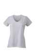 Ladies Running T Shirt James & Nicholson - white white