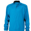 Mens Performance Jacket James & Nicholson - atlantic black