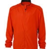 Mens Performance Jacket James & Nicholson - grenadine iron grey