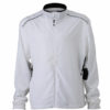 Mens Performance Jacket James & Nicholson - white black