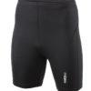 Mens Running Short Tights James & Nicholson - black black