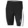 Mens Running Short Tights James & Nicholson - black white