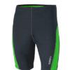 Mens Running Short Tights James & Nicholson - iron grey green