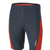 Mens Running Short Tights James & Nicholson - iron grey grenadine