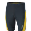 Mens Running Short Tights James & Nicholson - iron grey lemon