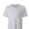 Mens Running T Shirt James & Nicholson - white white