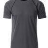 Mens Sport T Shirt James & Nicholson - titan black