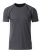 Mens Sport T Shirt James & Nicholson - titan black