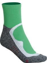 Sport Socks Short James & Nicholson - green