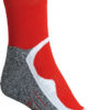Sport Socks Short James & Nicholson - red