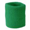 Terry Wristband James & Nicholson - green