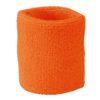 Terry Wristband James & Nicholson - orange