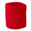 Terry Wristband James & Nicholson - red
