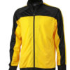 Training Team Suit James & Nicholson - black yellow