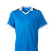 V Neck Team Shirt James & Nicholson - cobalt