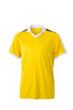V Neck Team Shirt James & Nicholson - yellow