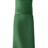 Greiff Latzschürze - flaschengrün