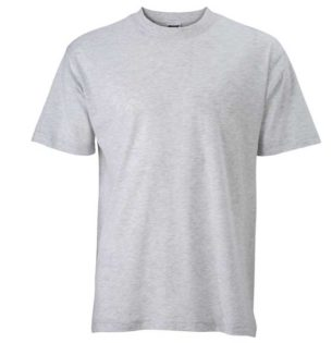 Basic-T-Shirt-James-Nicholson-ash