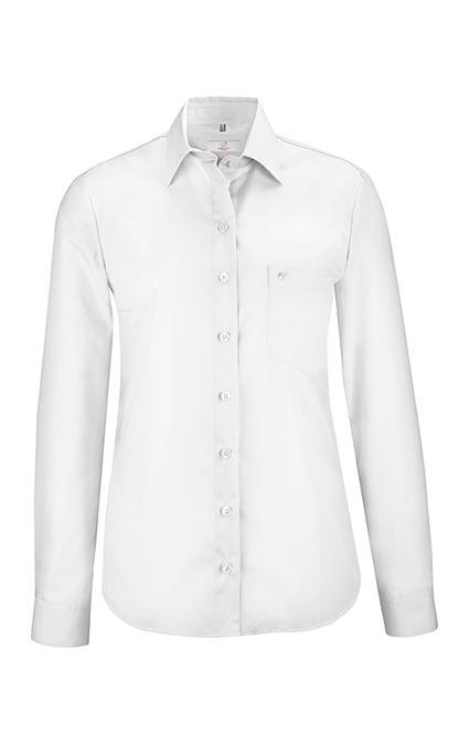 Greiff Premium Bluse Comfort Fit - weiß