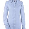 Greiff Premium Bluse Slim Fit - bleu