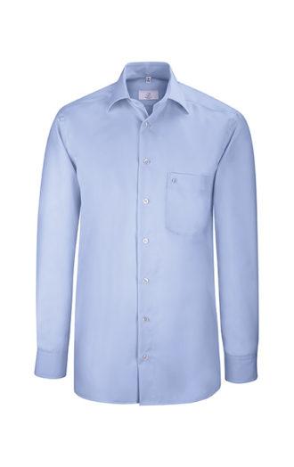 Greiff Premium Hemd Comfort Fit - bleu