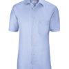 Greiff Premium Hemd Regular Fit Kurzarm - bleu