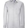 Greiff Premium Hemd Regular Fit - silbergrau